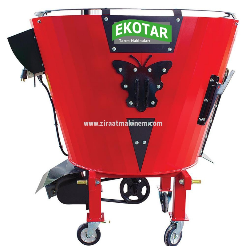 Eko-tar - Feed Mixer Machine 2 m³ 380 Volt Electric and Shaft -