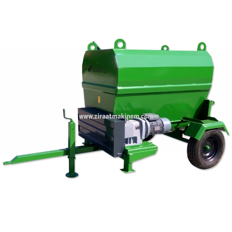 Agropak - 2 m³ Feed Mixer Machine 220V/380V -